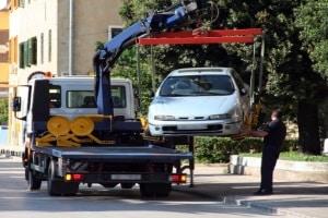 Durch ein mobiles Parkverbot können Sie unerwartet abgeschleppt werden.