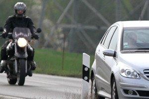 Beim Motorrad muss bezüglich Beleuchtung auf viele Regeln geachtet werden.