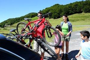 Sie können aus einem Sportgerät ein Mountainbike machen, das verkehrssicher ist.