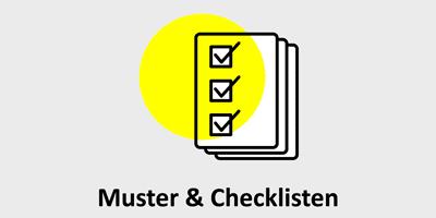 Kostenlose Muster & Checklisten