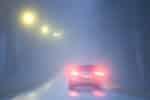Wann dürfen Sie die Nebelschlussleuchte anmachen?