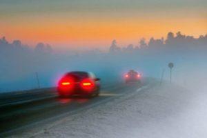 Bei stark beeinträchtigten, witterungsbedingten Sichtverhältnissen wird die Nebelschlussleuchte zur Pflicht
