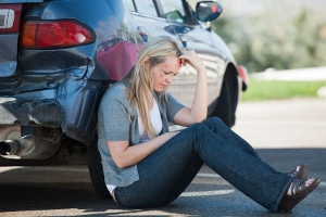 Nicht angeschnallt: Ein Unfall kann lebensgefährliche Verletzungen nach sich ziehen.