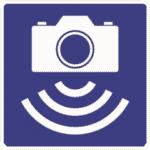 Verkehrszeichen Norwegen: Hinweis auf Geschwindigkeitskontrolle