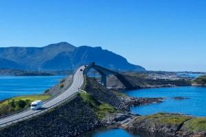 In Norwegen ist eine Maut fürs Motorrad nicht vorgesehen.
