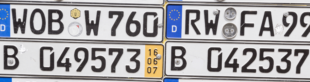 Versicherungskennzeichen für Moped, Mofa, Roller & Co.