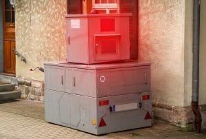 Panzerblitzer: Bei der Verkehrsüberwachung kann der Blitzautomat zum Einsatz kommen.