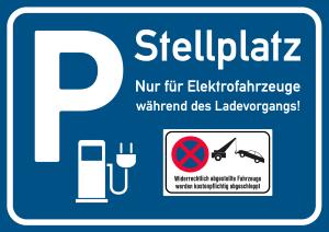 Parken auf einem Elektro-Parkplatz: Welcher Tatbestand erfüllt ist, hängt vom Verstoß ab.