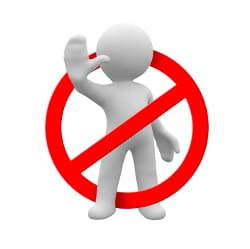 Parkplatz freihalten: Sie dürfen nicht einfach eigenmächtig ein Parkverbot aussprechen!