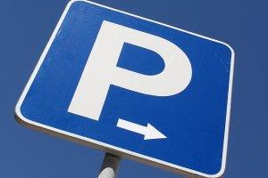 Parken nur mit Parkschein: Die Preise können je nach Region variieren.