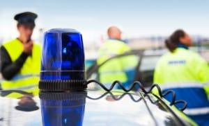 Der Polizei kommen beim Unfall im Verkehr verschiedene Aufgaben zu