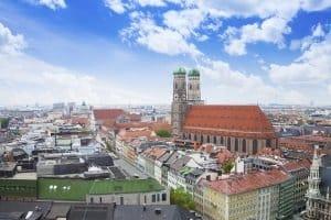 Das Polizeiverwaltungsamt Bayern saß in seiner Anfangszeit in München.