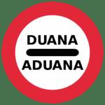 Portugal: Verkehrszeichen Zollstelle