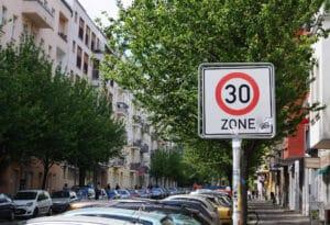 Eine private Geschwindigkeitsmessung wäre vor allem in Tempo 30-Zonen nützlich.