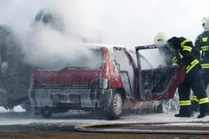 In der Probezeit wird der Führerschein durch einen Unfall gefährdet.