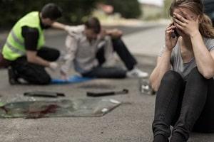 PTBS tritt oft nach einem Unfall auf.