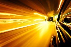 Mittels Radar kann die Geschwindigkeit einzelner Fahrzeuge ermittelt werden.