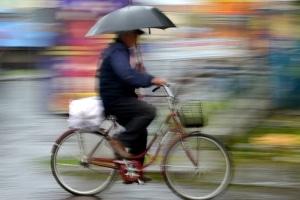 Radfahren bei Regen: Was ist zu beachten?