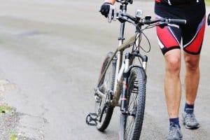 Zum Radfahren im Winter, ist die richtige Ausrüstung wichtig.