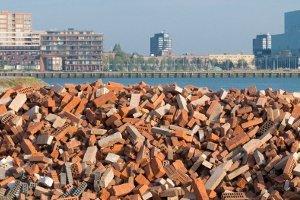 Radioaktiver Abfall kann auch im Bauschutt vorhanden sein
