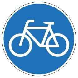 Bislang sind die meisten Radschnellwege noch mit dem Verkehrszeichen 237 ausgeschildert.