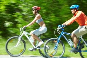 Sind Sie auf einer Radwanderroute unterwegs, soll dies auch der Erholung dienen.
