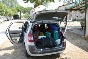 Schon richtiges Verhalten trägt zum Diebstahlschutz bei: verschließen Sie stets Ihr Auto.