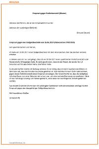 antrag auf akteneinsicht muster - Einspruch Gegen Busgeldbescheid Muster