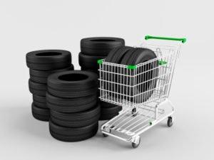 Runderneuerte Reifen am LKW sind keine Seltenheit.