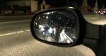 Schlechte Sicht im Seitenspiegel