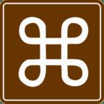 Verkehrszeichen in Dänemark: Schleifenquadrat