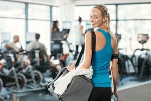 Auch von Schließung betroffen: Das Fitnessstudio darf wegen Corona nicht öffnen.