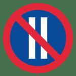Schweden: Verkehrszeichen eingeschränktes Haltverbot an geraden Tagen