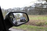 Seitenspiegel beim Auto