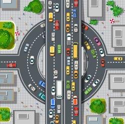 Der Sicherheitsabstand im Stadtverkehr soll insbesondere Auffahrunfälle vermeiden.