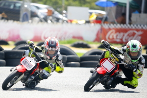 Beim Sicherheitstraining mit dem Motorrad spielen Kurvenfahrten eine große Rolle.