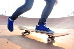 Wo ist es erlaubt, mit dem Skateboard zu fahren?