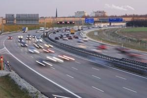 Eine Sonderfahrt auf der Autobahn für den Führerschein der Klasse A ist Pflicht.