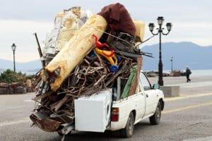 Zum Sperrmüll gehören auch Gegenstände wie Möbel oder Fahrräder.