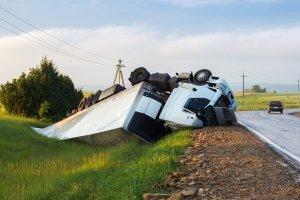 Sperrung aufgrund LKW-Unfall