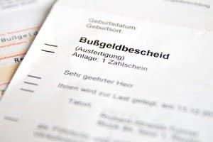 In der Stadt Bottrop verschickt die Bußgeldstelle den Bußgeldbescheid.
