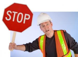 stoppschild überfahren