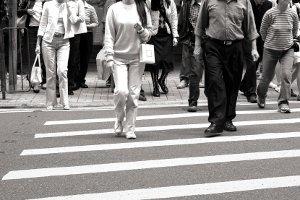 Die StVO gilt auch für Fußgänger.