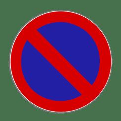 Die Regeln der StVO zum Haltverbot werden durch passende Schilder erweitert.
