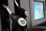 Zapfhahn für Super E10 an Tankstelle