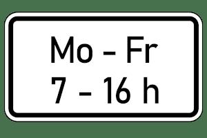"""Ob Tempo 30 vor der Schule auch an Feiertagen gilt, obwohl ein Zusatzzeichen """"Mo - Fr"""" angibt, ist rechtlich nicht eindeutig zu beurteilen."""
