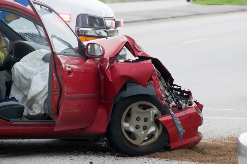 Totalschaden eines Fahrzeugs