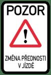 Tschechien: Verkehrszeichen Änderung der Verkehrsregeln