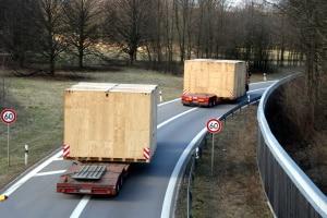 Für Schwertransporte gelten laut StVO ebenfalls als übermäßige Straßenbenutzung.