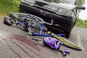 Unfall in Berlin: Radfahrer werden oft übersehen.